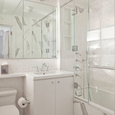Transitional Bathroom by A. Tobin Interiors, Inc.