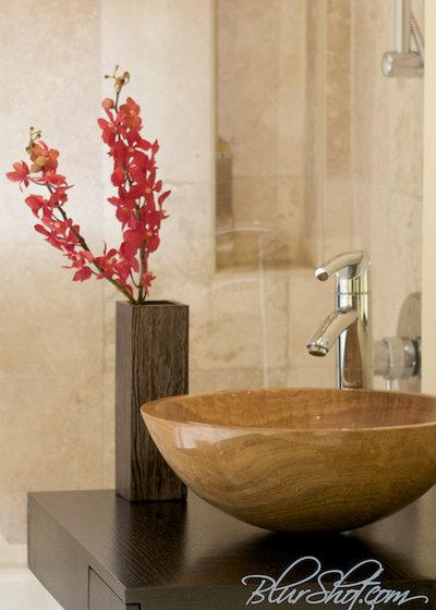 Contemporary Bathroom by Marie Burgos Design