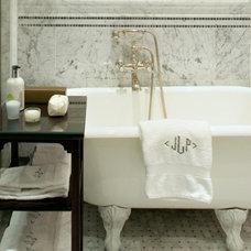 Traditional Bathroom by Sussan Lari Architect PC
