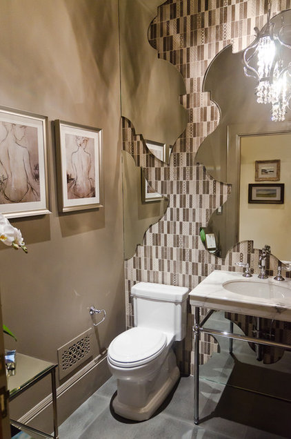 eclectic bathroom by Alex Amend Photography