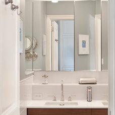 Transitional Bathroom by Weil Friedman Architects