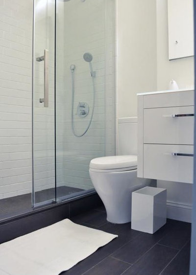 Modern Bathroom by MyHome Design & Remodeling