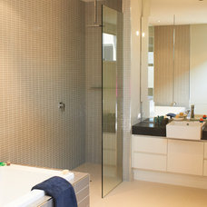 Beach Style Bathroom by Siobhan Donoghue Design