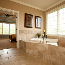 Traditional Bathroom by RVP Photography