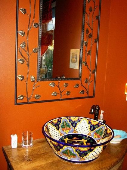 Mediterranean Bathroom by Sharon Charboneau, RESA Pro, Interior Stylist