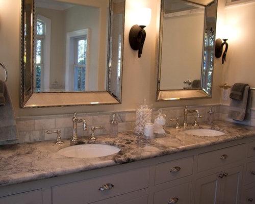 Superb Example Of A Classic Bathroom Design In Sacramento