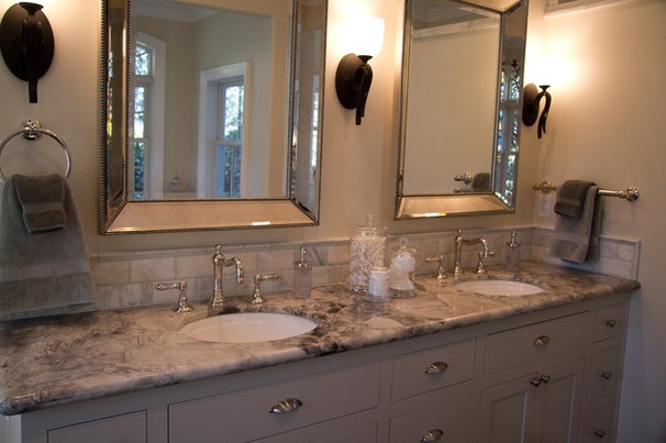 Traditional Bathroom Upstairs and Master Bath Remodel
