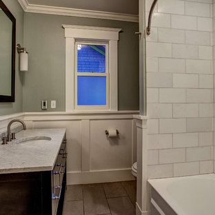 7x7 Craftsman Bathroom Ideas Houzz