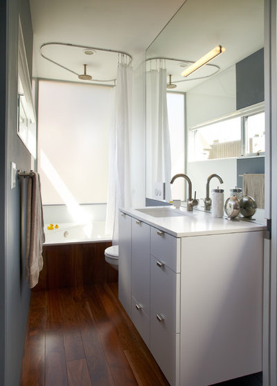 Modern Bathroom by Blue Truck