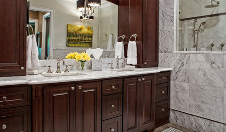 Bathrooms on houzz tips from the experts for Houzz com bathroom tile