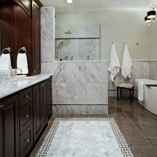 Traditional Bathroom by Case Remodeling