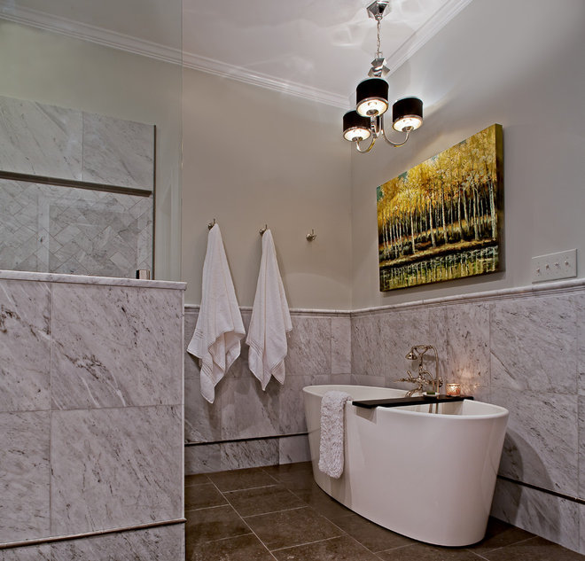 Contemporary Bathroom by Case Design/Remodeling