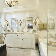 Traditional Bathroom by Andrew Flesher Interiors