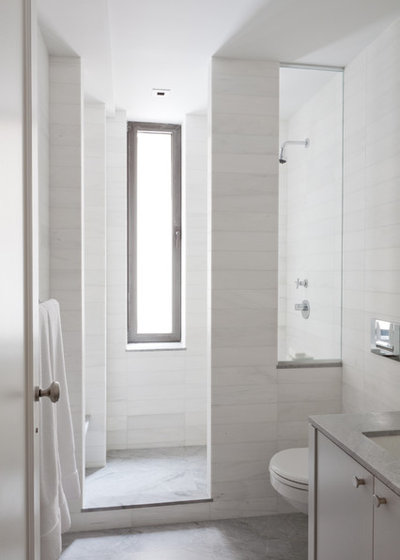 Contemporary Bathroom by Wettling Architects