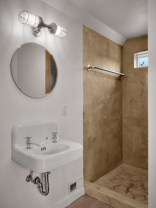 Concrete Shower Houzz