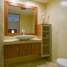contemporary bathroom by Archipelago Hawaii Luxury Home Designs