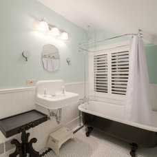 Traditional Bathroom by HighCraft Builders