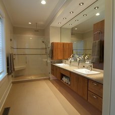Contemporary Bathroom by Blue Sky Building Company