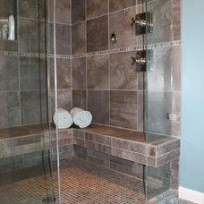 Modern Bathroom by Designers i llc