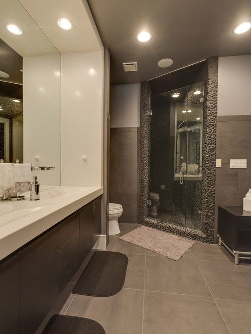 Industrial Charlotte Bathroom Design Ideas Remodels Photos