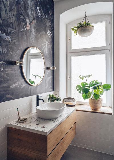 Modern Badezimmer by Raini Peters - Interior Design & Styling
