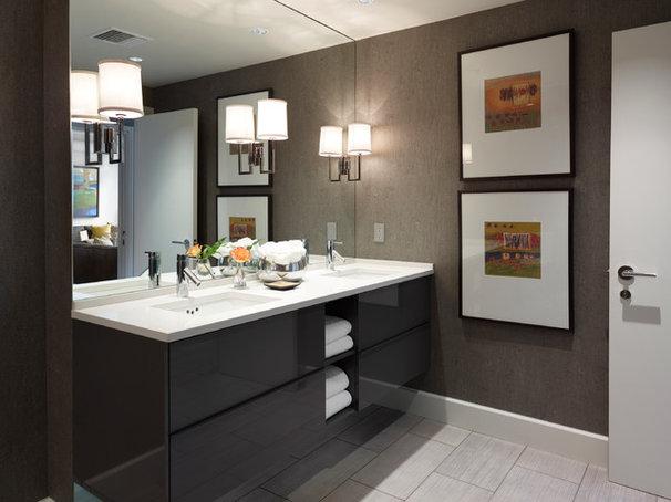 Contemporary Bathroom by Tom Stringer Design Partners