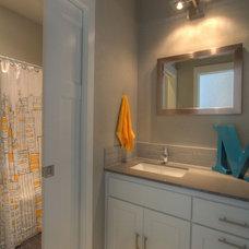 Transitional Bathroom by Jordan Iverson Signature Homes