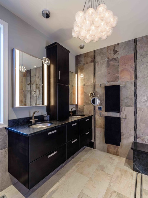 Black Bathroom Vanity | Houzz
