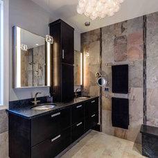 Contemporary Bathroom by Deimler & Sons Construction