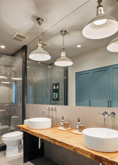 Contemporary Bathroom by Poet Interiors