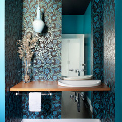 eclectic bathroom by Feldman Architecture, Inc.