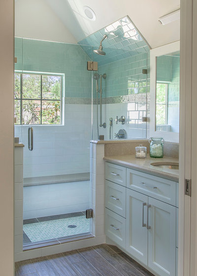 Transitional Bathroom by By Design Interiors, Inc