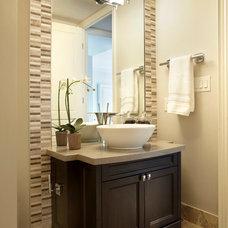 Transitional Bathroom by Parkyn Design
