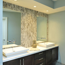 transitional bathroom by Beckwith Interiors