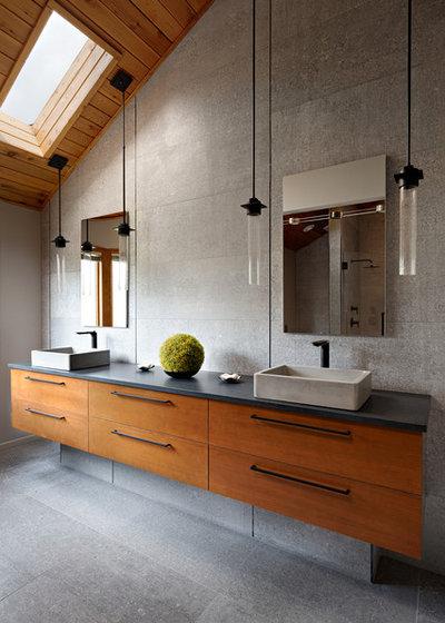 Contemporary Bathroom by Lauren Levant Interior