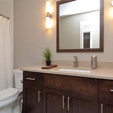 Contemporary Bathroom by Redstone Builders