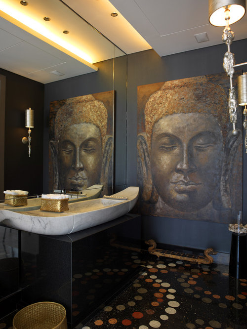 Buddha decor ideas pictures remodel and decor - Oriental bathroom decor ...