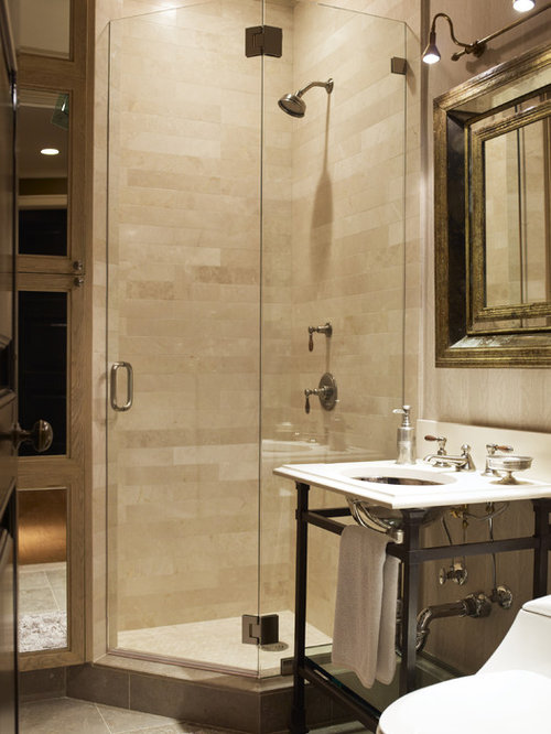 example of a trendy bathroom design in new york