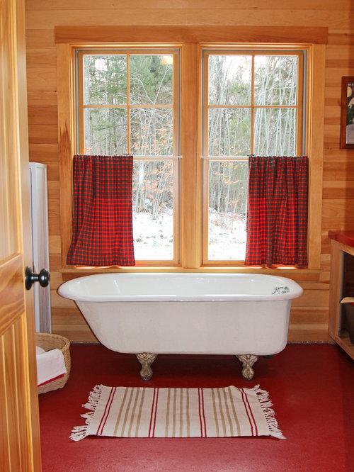 salle de bain montagne avec sol en terrazzo photos et id es d co de salles de bain. Black Bedroom Furniture Sets. Home Design Ideas