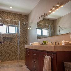 Contemporary Bathroom by KBI Interior Design Studios