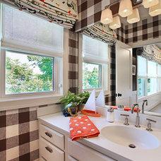 Traditional Bathroom by Urso Designs