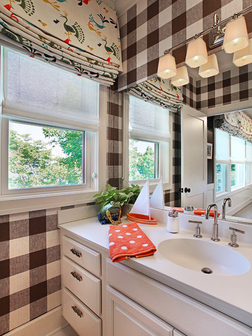 gingham wallpaper ideas pictures remodel and decor