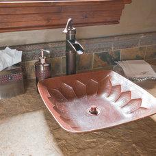 Rustic Bathroom by Ulf & Associates