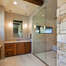 Contemporary Bathroom by Fine Focus Photography