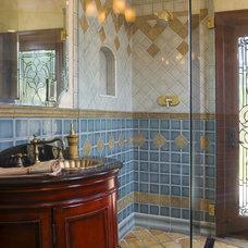 Mediterranean Bathroom by Status Ceramics