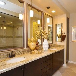 Gold And Tan Brown Bathroom Ideas