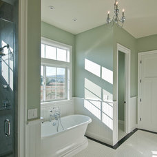 Traditional Bathroom by dC Fine Homes & Interiors