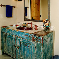 eclectic bathroom by Cypress Building Contractors, Inc