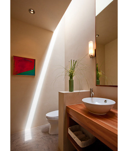 Contemporary Bathroom by Archaeo Architects