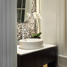 modern bathroom vanities and sink consoles by Citation Kitchens